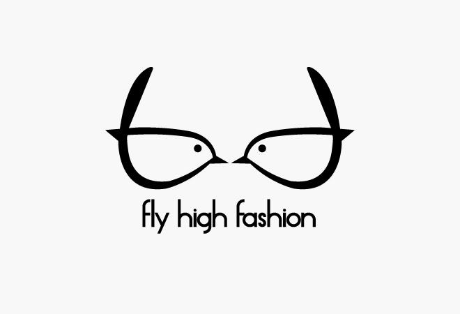 fly high fashion logo aki omikawa